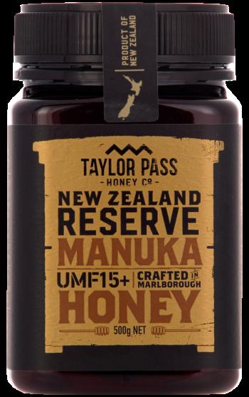 Taylor Pass Honey 15+ 500g