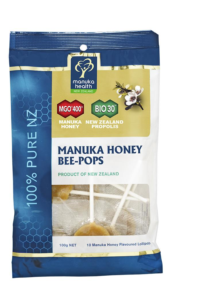 Manuka Health Propolis & Manuka Honey Bee - Pops