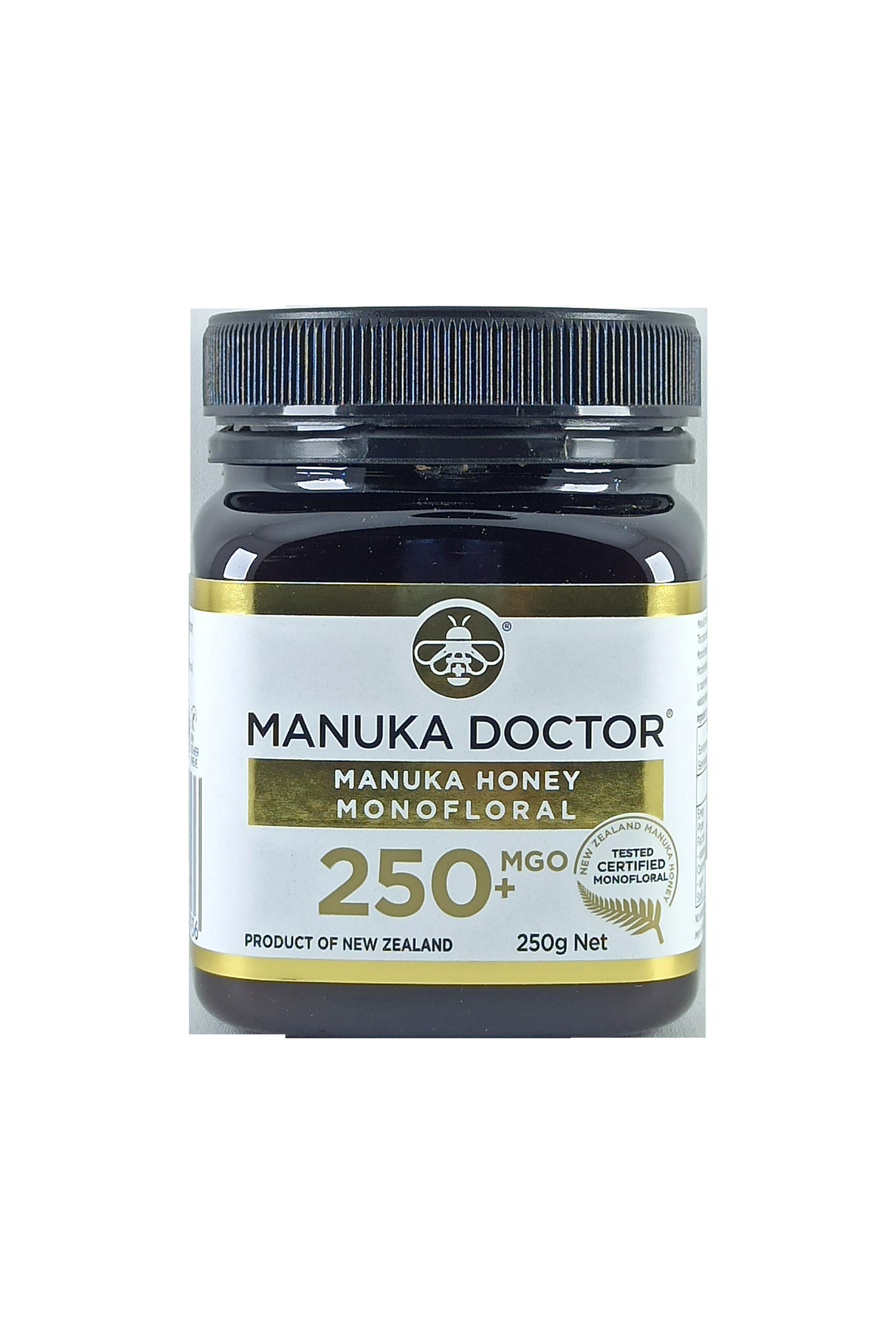 Manuka Doctor MGO 250+ Manuka Honey Monofloral 250gr