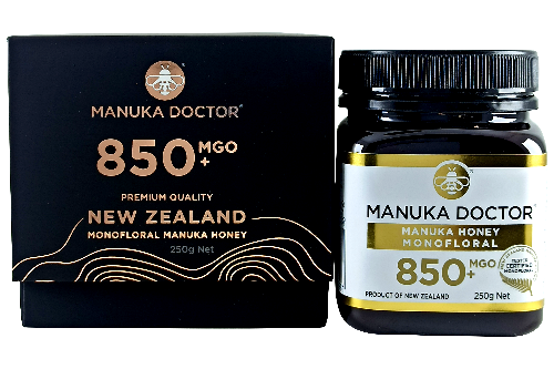 Manuka Doctor MGO 850+ Manuka Honey Monofloral 250gr