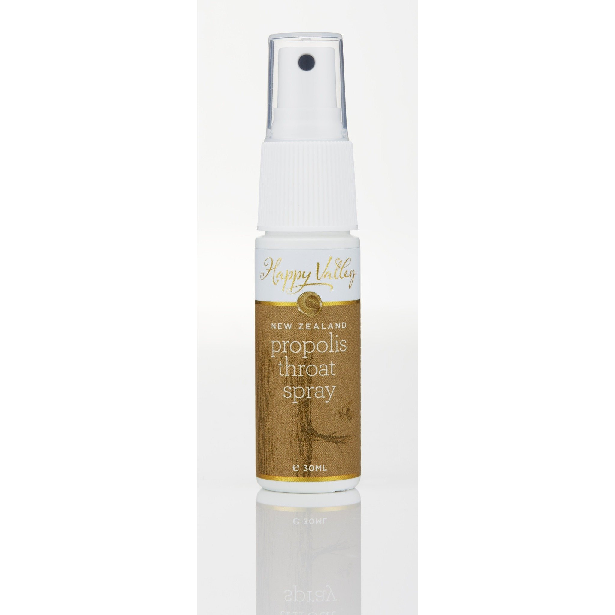 Happy Valley Honey Propolis Throat Spray 30ml