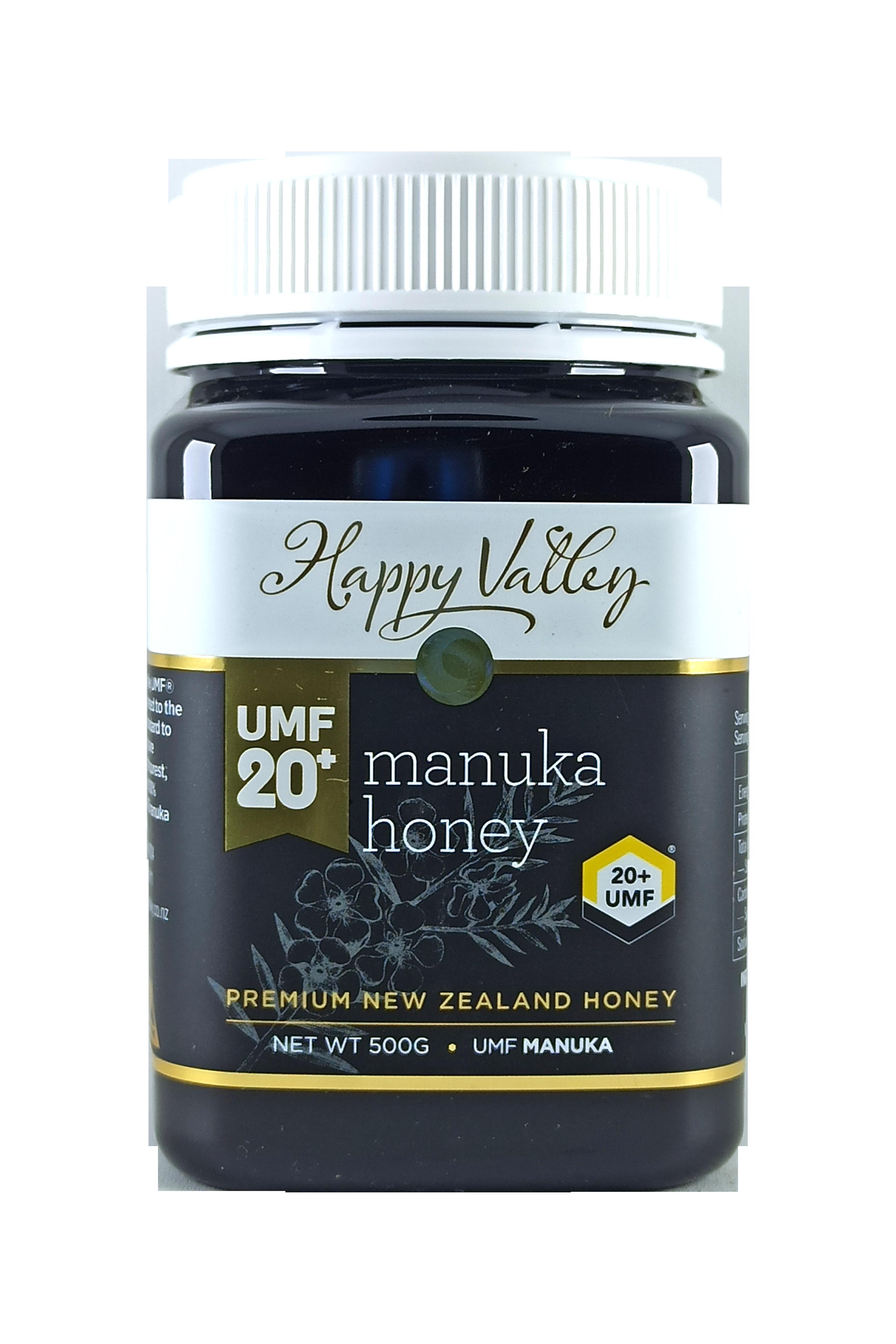Happy Valley Honey UMF 20+ 500g