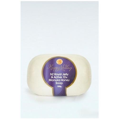 Happy Valley Honey Royal Jelly & Manuka Soap 100g