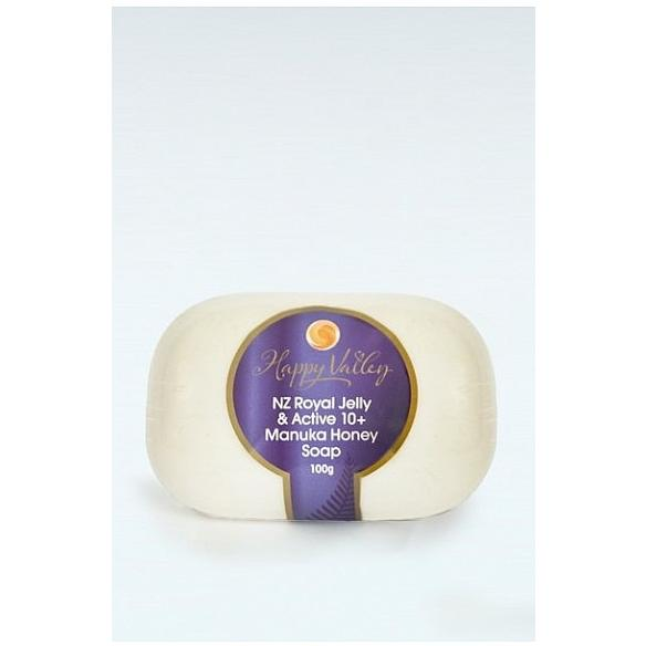 Happy Valley Honey Royal Jelly & Manuka Soap 100g