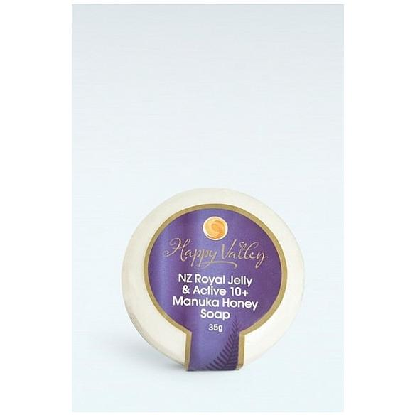 Happy Valley Honey Royal Jelly & Manuka Soap 40g