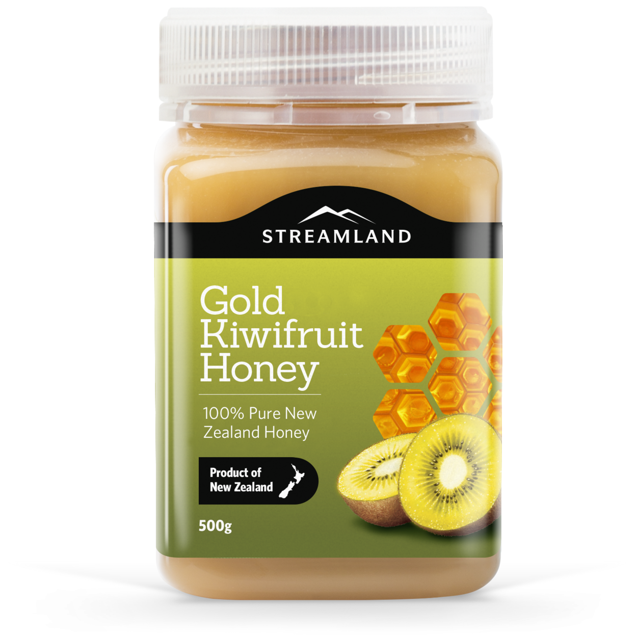 Streamland Gold Kiwifruit 'n Honey 500g