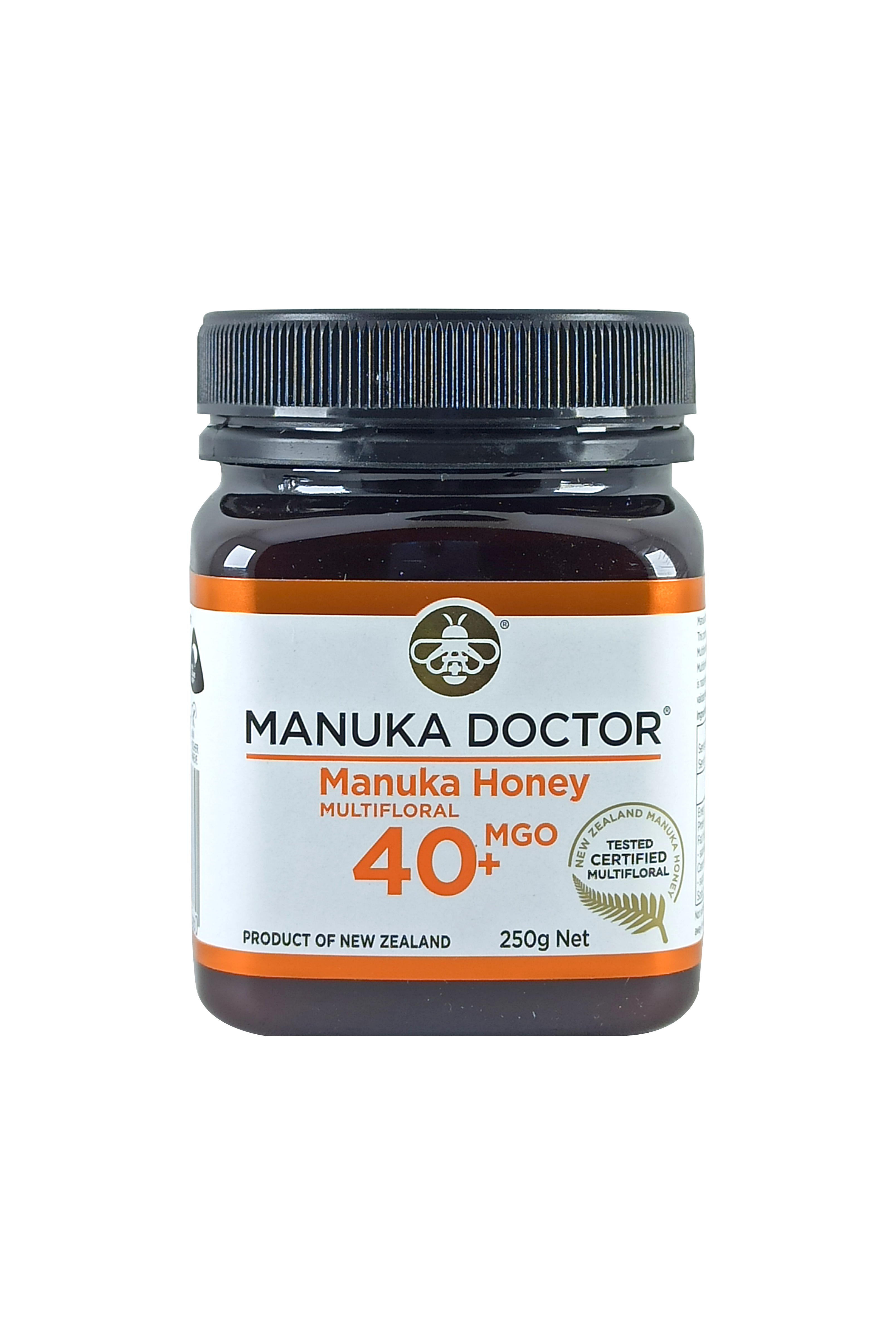 Manuka Doctor MGO 40+ Manuka Honey Multifloral 250gr