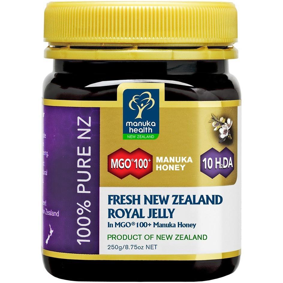 Manuka Health MGO 100+ Manuka Honey with Fresh NZ Royal Jelly 250g