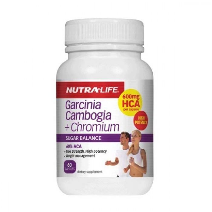 Nutra Life Garcinia Cambogia + Chromium