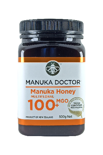 Manuka Doctor MGO 100+ Manuka Honey Multifloral 500gr