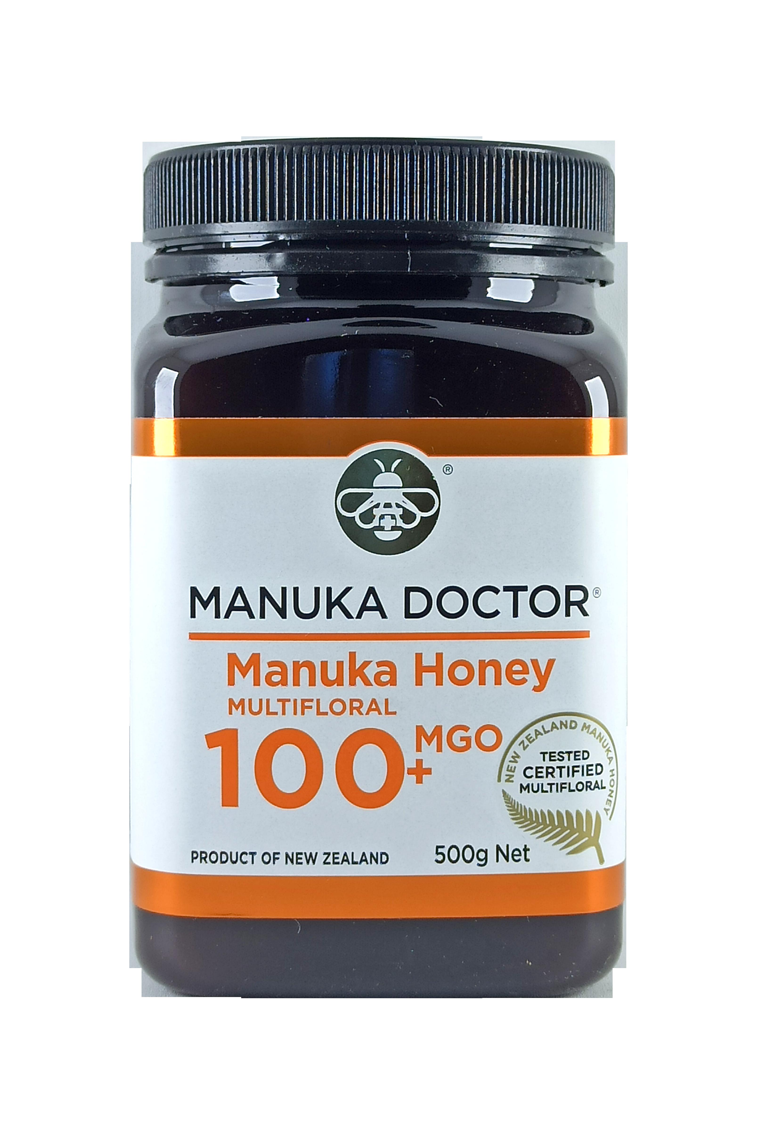 Manuka Doctor MGO 100+ Manuka Honey Multifloral 500gr