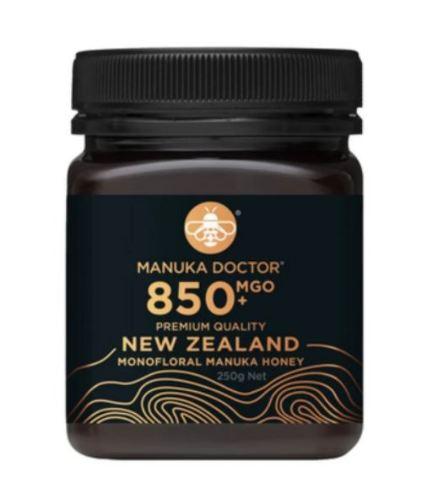 Manuka Doctor MGO 850+ Manuka Honey Monofloral 250gr