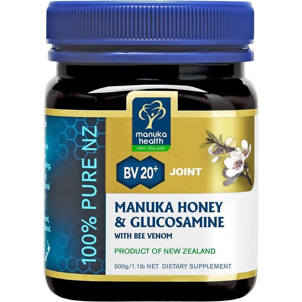 Manuka Health - Manuka Honey & Glucosamine With Bee Venom 500g