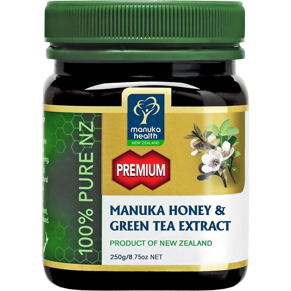 Manuka Health - Manuka Honey With Green Tea Extract 250g