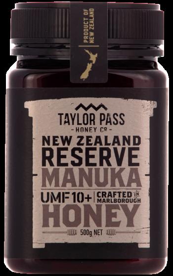 Taylor Pass Honey 10+ 500g