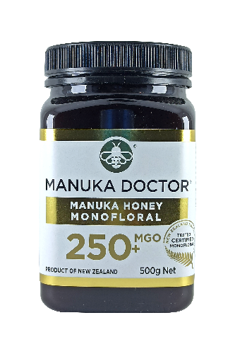 Manuka Doctor MGO 250+ Manuka Honey Monofloral 500gr