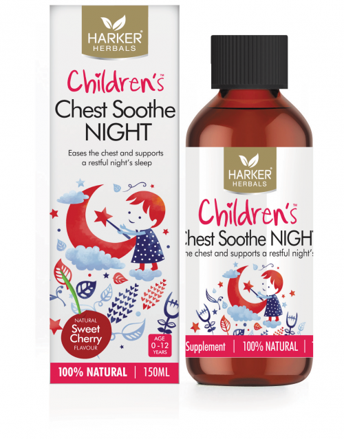 Child Harker Herbals Chest Soothe Night 150ml