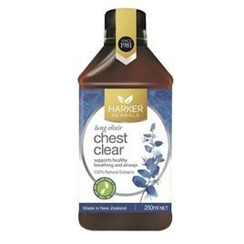 Harker Herbals Chest Clear 250ml