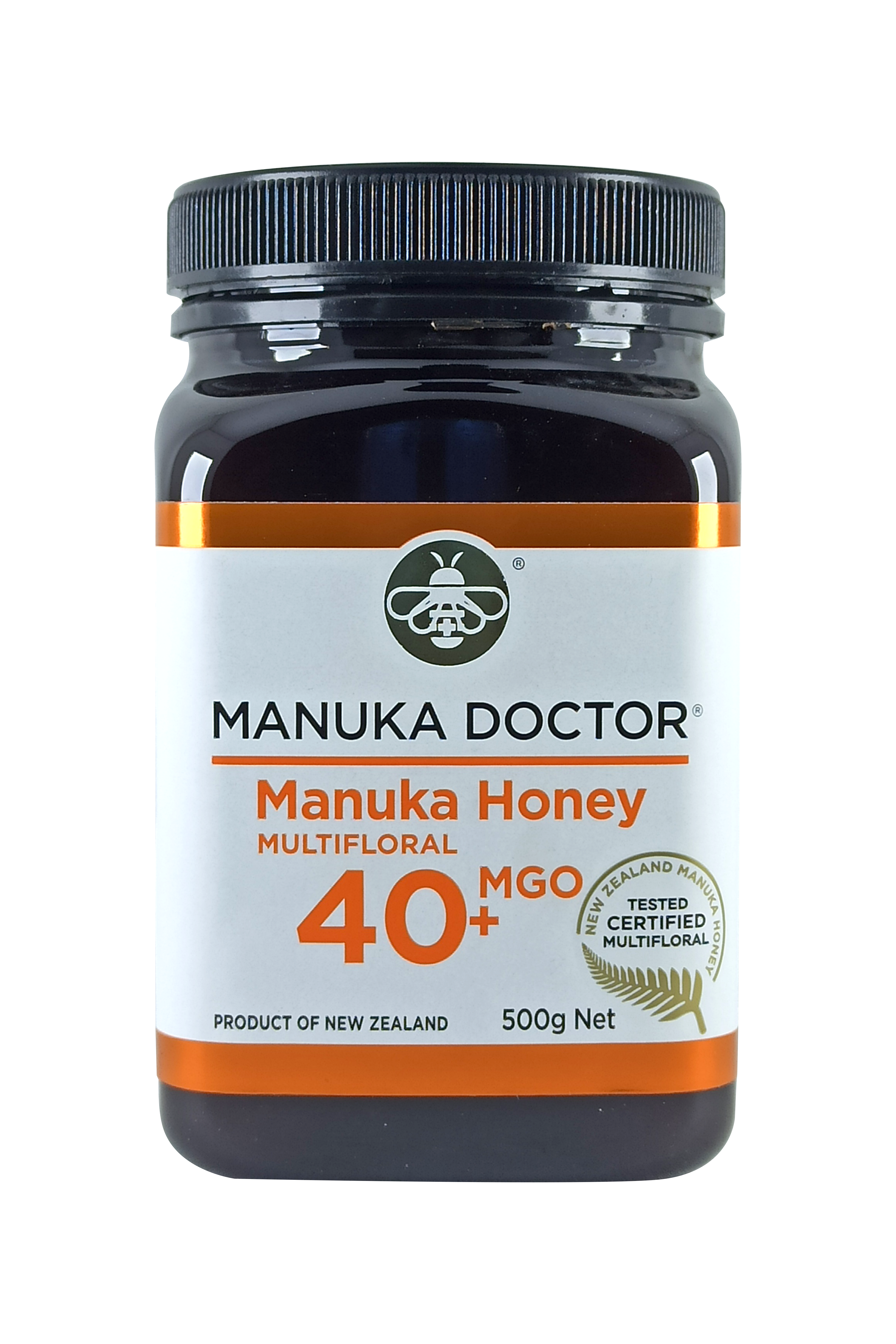 Manuka Doctor MGO 40+ Manuka Honey Multifloral 500gr