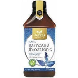 Harker Herbals Ear, Nose & Throat Tonic 250ml