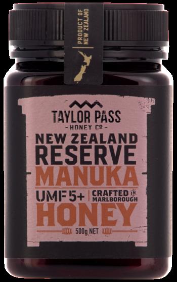 Taylor Pass Honey 5+ 375g
